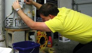 Hajdu villanybojler felszerelese